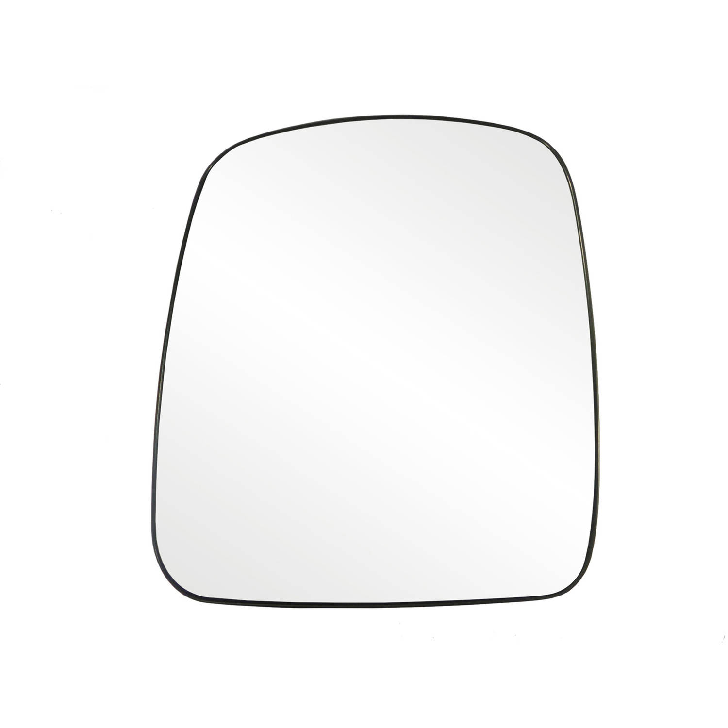 33219 - Fit System 03-07 Chevrolet Express / GMC Savana Heated Replacement Mirror Glass with backing plate, Driver Side - check description for fitment