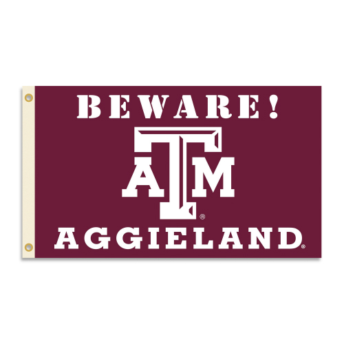 Bsi Products Inc Texas A&M Aggies Flag with Grommets - Country Flag with Grommets