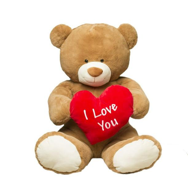 Baby Net For Stuffed Animals, Valentine S Day Jumbo 35 Plush I Love You Teddy Bear Gitzy Walmart Com Walmart Com