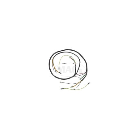 Leader Signal Generator - MACs Auto Parts Premier  Products 66-27799  Ford Thunderbird Headlight Crossover Wire, PVC Wire, With Generator & Turn Signal Wires, 19 Terminals