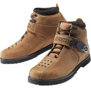 Icon SuperDuty 4 Motorcycle Boots Brown