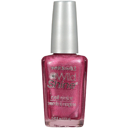 Wet n Wild Wild Shine Nail Color, 420B Lavender Pearlescent, 0.43 fl oz