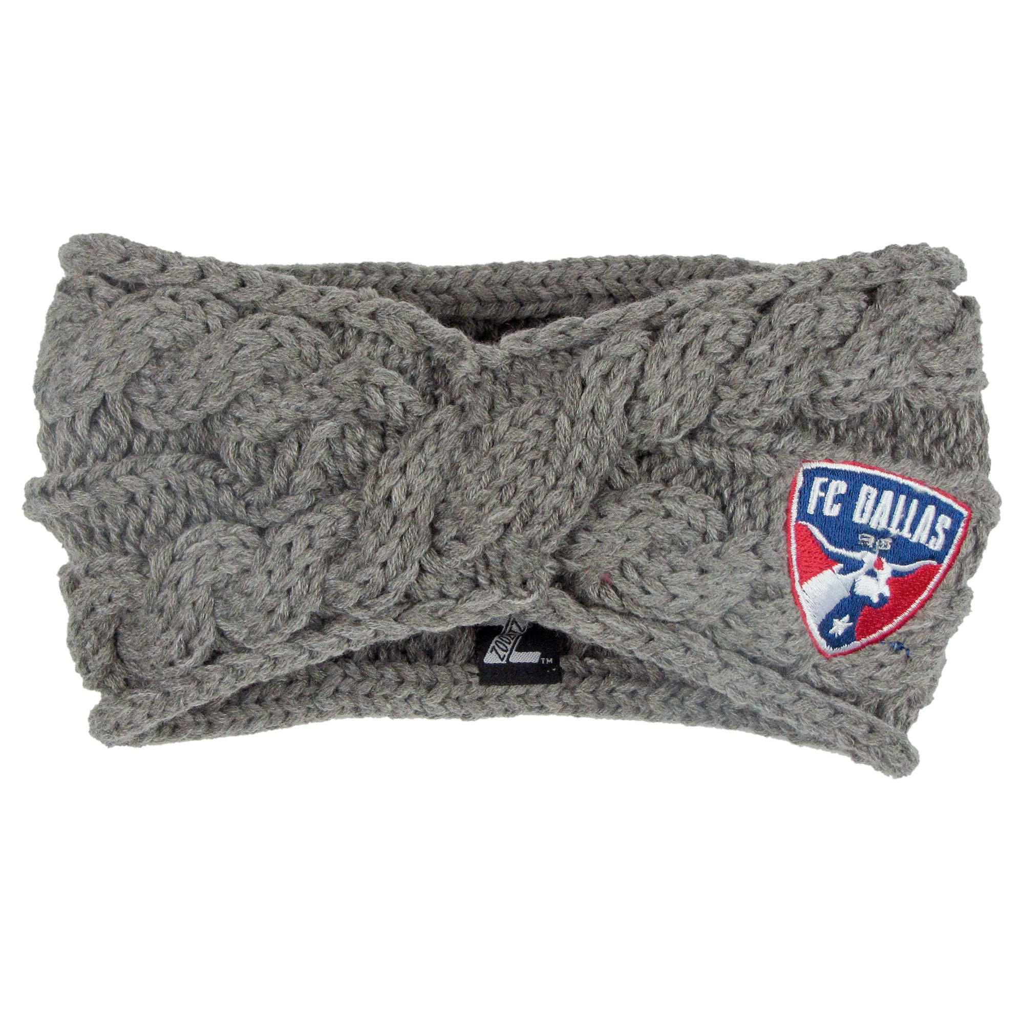 FC Dallas ZooZatz Women's Cable Headband - Charcoal - No Size