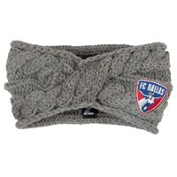FC Dallas ZooZatz Women's Cable Headband - Charcoal - No Size