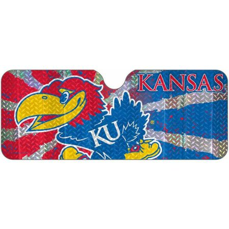 NCAA Kansas Auto Sun Shade