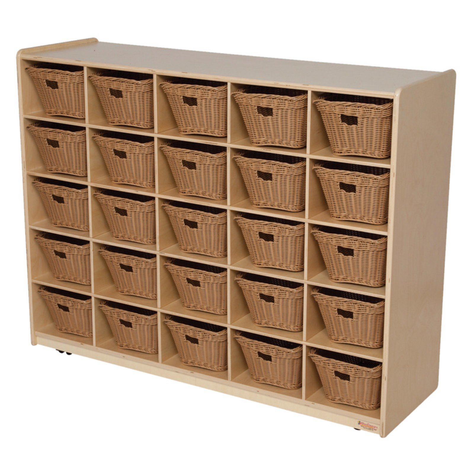 Wood Designs 25 Tray Storage with Baskets