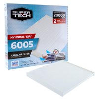 SuperTech Cabin Air Filter 6005, Replacement Air/Dust Filter for Hyundai / Kia