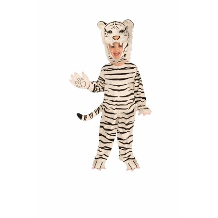 Halloween Infant/Toddler Plush - White Tiger Costume