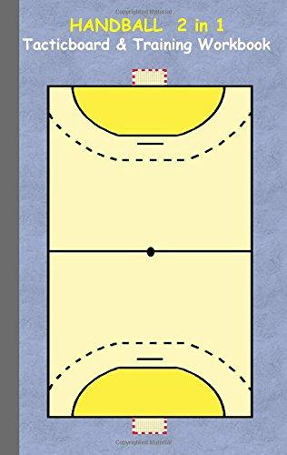 Handball 2 in 1 Tacticboard and Training Workbook by Books on Demand