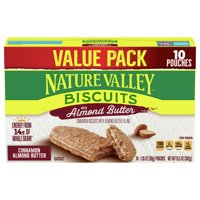 Nature Valley Breakfast Biscuits, Almond Butter, 13.5 oz