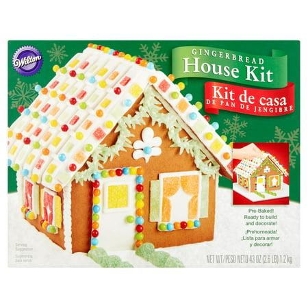 Wilton Gingerbread House Kit, 43 oz - Walmart.com
