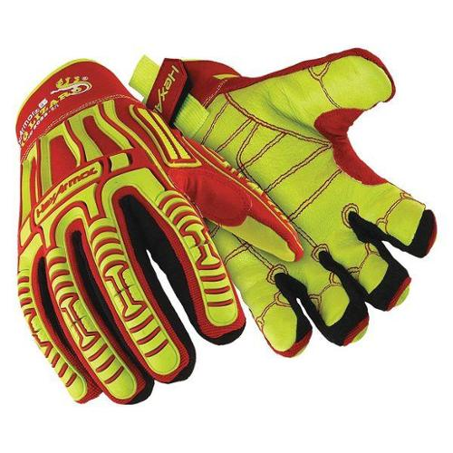 HEXARMOR 2033 L Impact Gloves, L, Slip Fit, PR