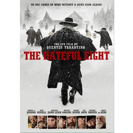The Hateful Eight  Dvd   Digital Copy   With Instawatch