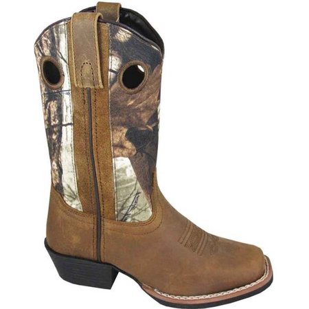 Smoky Mountain Distressed Leather Camo Boot