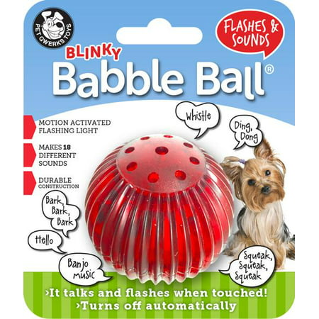 Small Blinky Babble Ball Flashes &