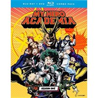 My Hero Academia: Season One (Blu-ray + DVD)