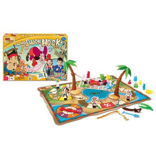 Disney Jake and the Neverland Pirates Who Shook Hook? Game
