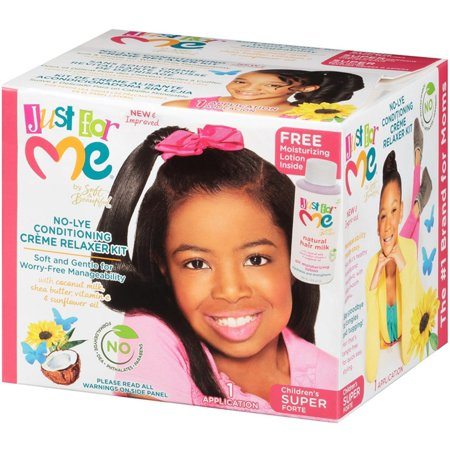 2 Pack - Soft & Beautiful Just for Me No-Lye Conditioning Creme Relaxer Kit-Children