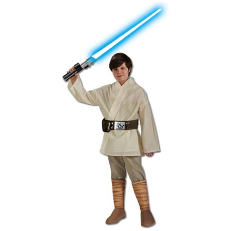 Star Wars Deluxe Luke Skywalker Child Halloween Costume](Anakin Skywalker Deluxe Costume)