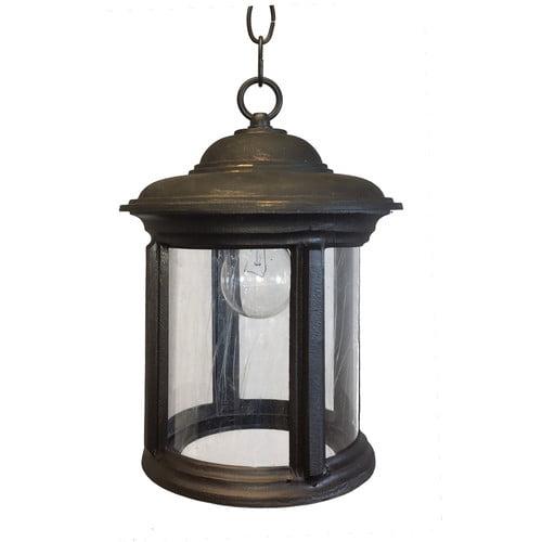 Alcott Hill Perales 1-Light Outdoor Hanging Lantern
