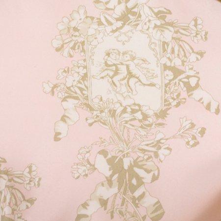 Cotton Tale  Lollipops Pink Floral Reversible 2 PC Twin Quilt (Cotton Tale Lollipops And Roses Mosquito Net)