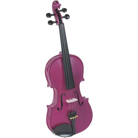 Cremona SV-75RS Premier Novice Violin Outfit - Sparkling Rose - 4/4 - Villain Outfit