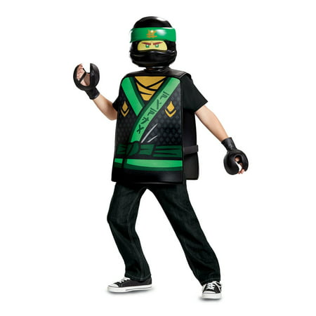 Lego Ninjago Lloyd Basic Child Costume](Girl Lego Costume)