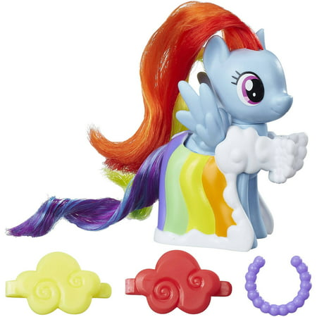 My Little Pony Runway Fashions Set with Rainbow Dash figure - Rainbow Dash Light