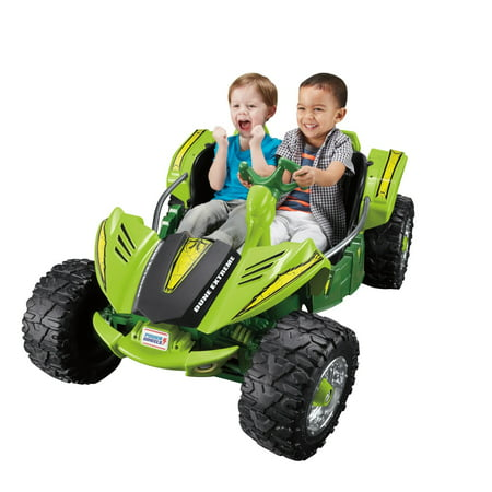 Power Wheels Dune Racer Extreme, Green Ride-On - Fire Truck For Kids To Ride