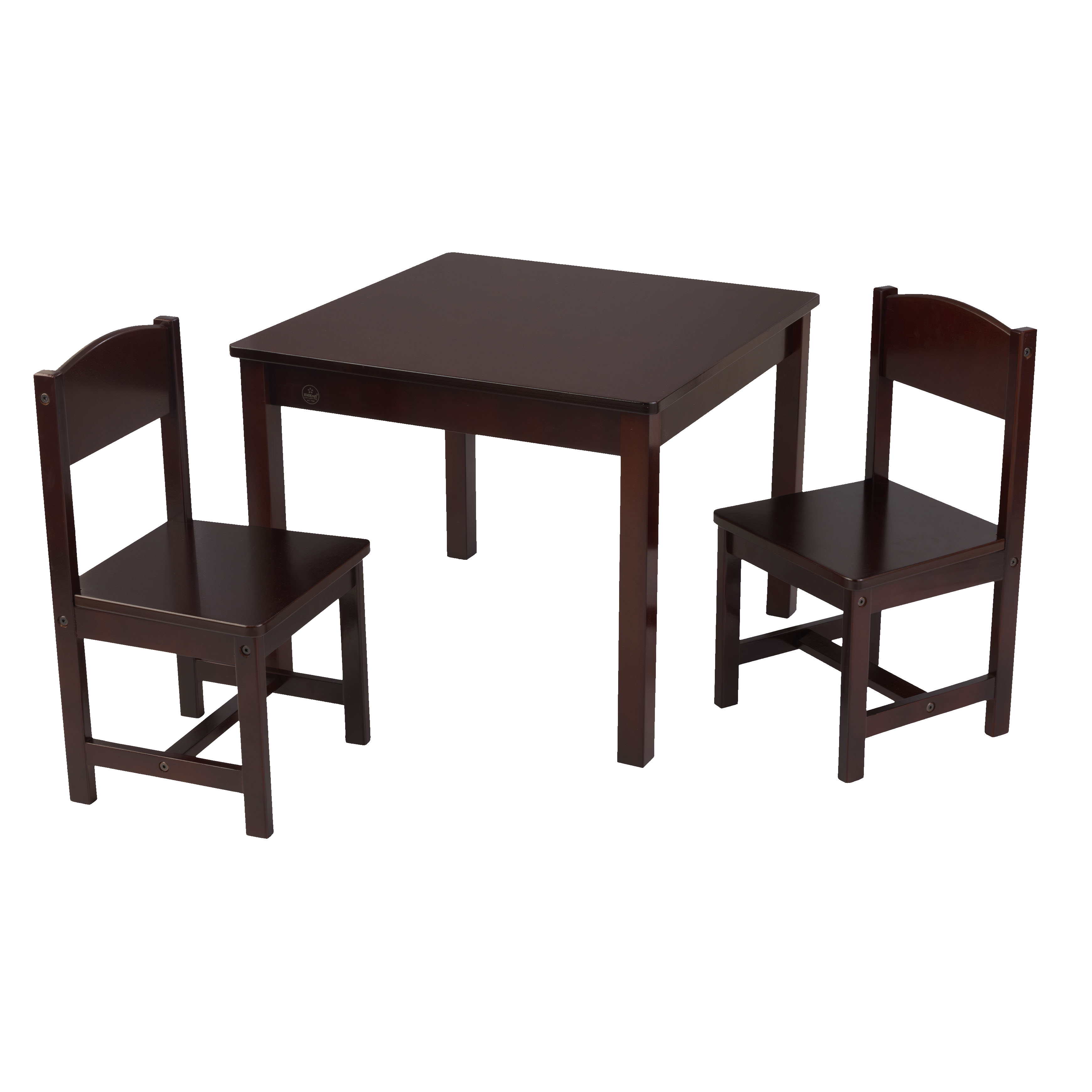 KidKraft Aspen Table & 2 Chair Set Espresso by KidKraft