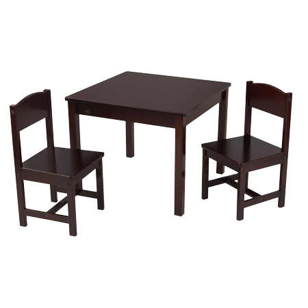 KidKraft Aspen Table & 2 Chair Set, Multiple (Aspen Table Set)