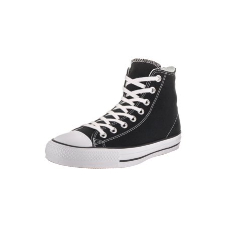 3bf091da2b0 converse unisex chuck taylor all star pro hi black white black basketball  shoe 7 men us 9 women us