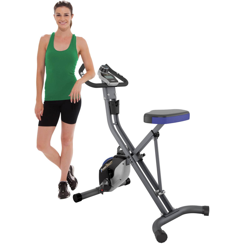 FITNESS REALITY U2500 Folding 400-lb Weight Capacity Upright Exercise Bike