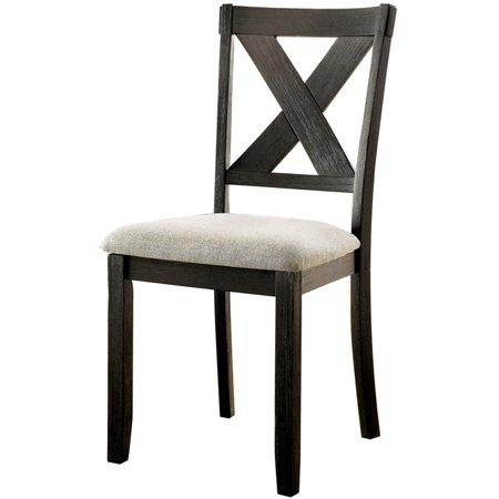 Furniture Of America Nora Dining Side Chair In Black Set