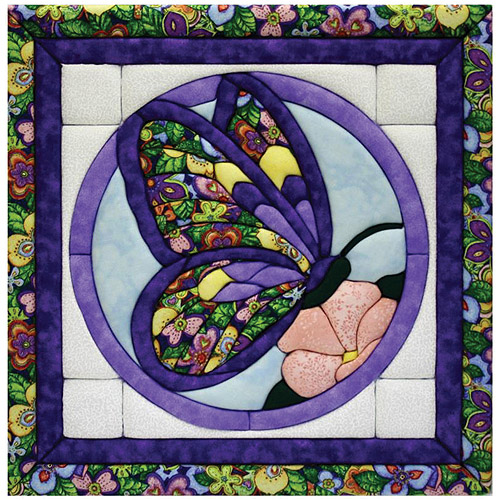 Butterfly Quilt Magic Kit, Medium