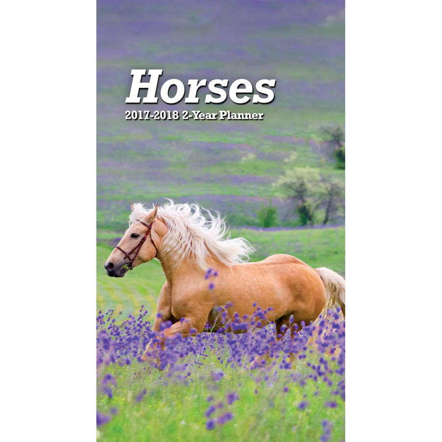Turner Photographic 2017 2-Year Planner, Horses