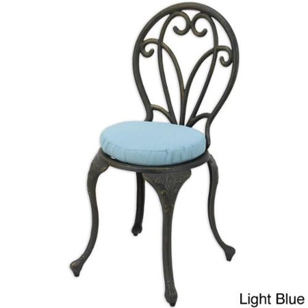 Wondrous Somette 14 Inch Round Outdoor Foam Chair Cushion Set Of 2 Interior Design Ideas Helimdqseriescom