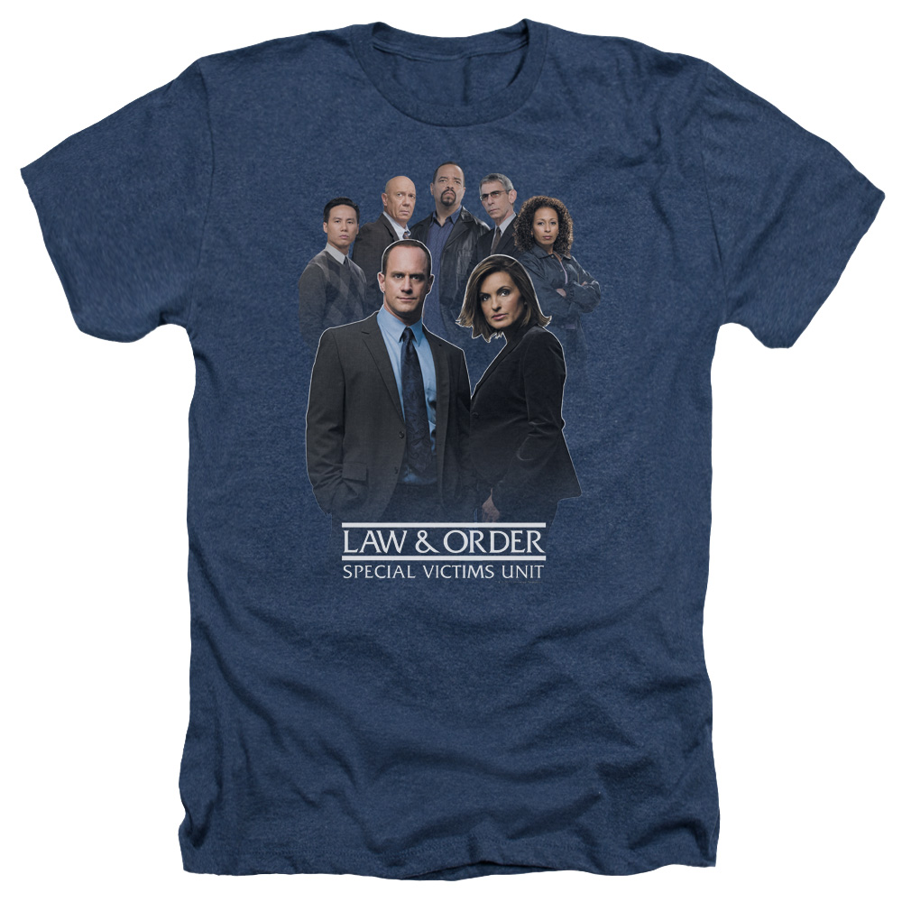 Law & Order SVU Team Mens Heather Shirt