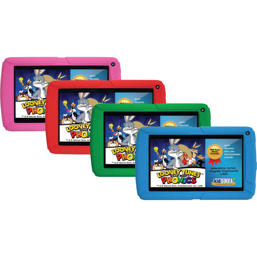 "HighQ Learning Tab Jr. 7"" Kids Tablet 8 GB Quad-Core Processor"