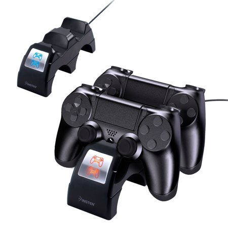 Insten Dual Controller Charging Cradle Station For Sony Playstation 4 Dualshock 4 Controller -