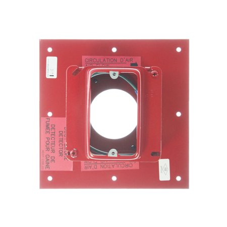 Est Edwards Siga Dmp Signature Series Duct Sensor Mounting Plate  Red