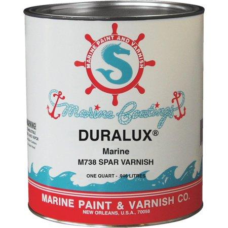 Duralux M738-4 Spar Varnish 1 qt Clear Petroleum