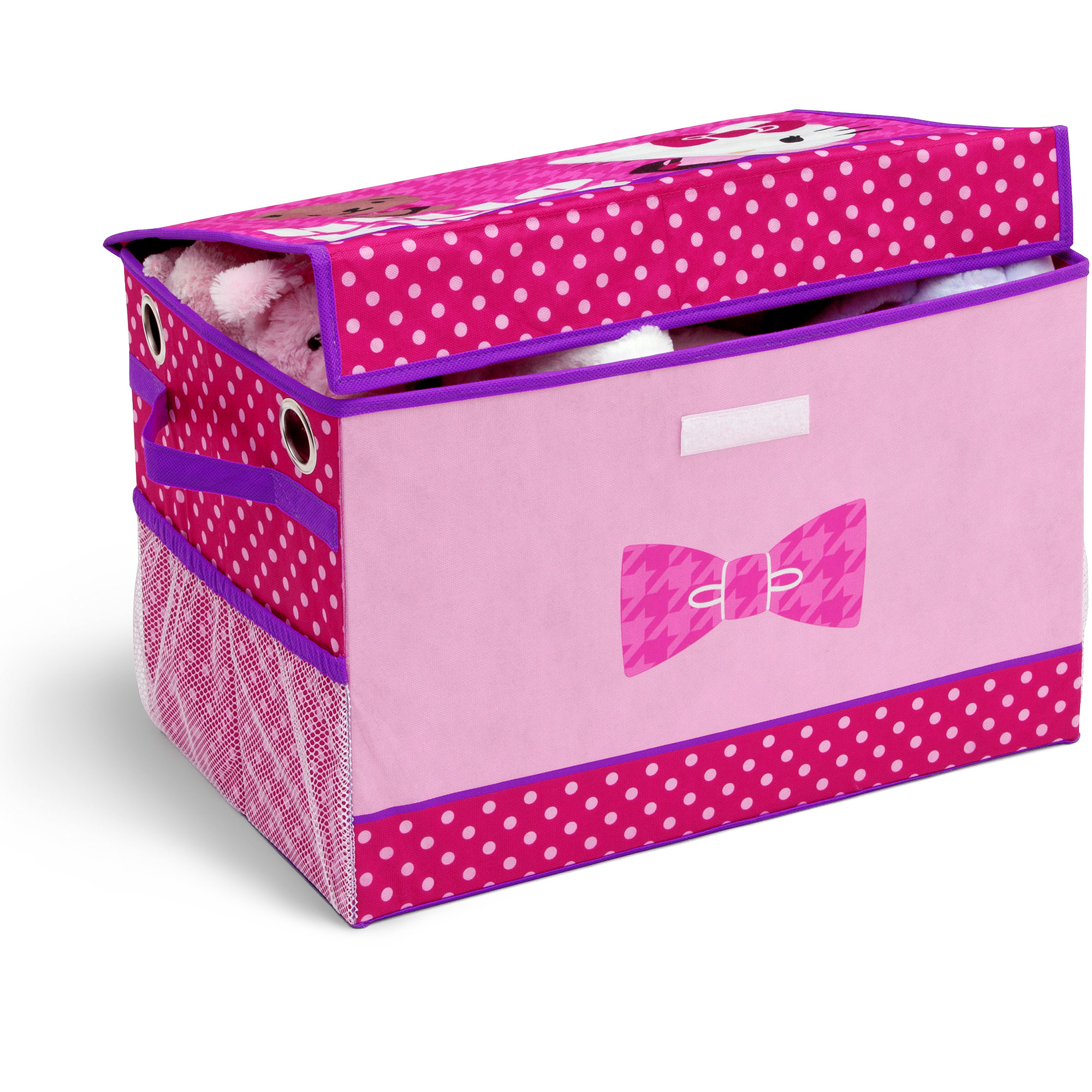 Hello Kitty Fabric Toy Box Walmartcom