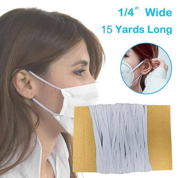 Lncdis Diy Elastic Band Multicolor Width 6mm Homemade Mask Rope