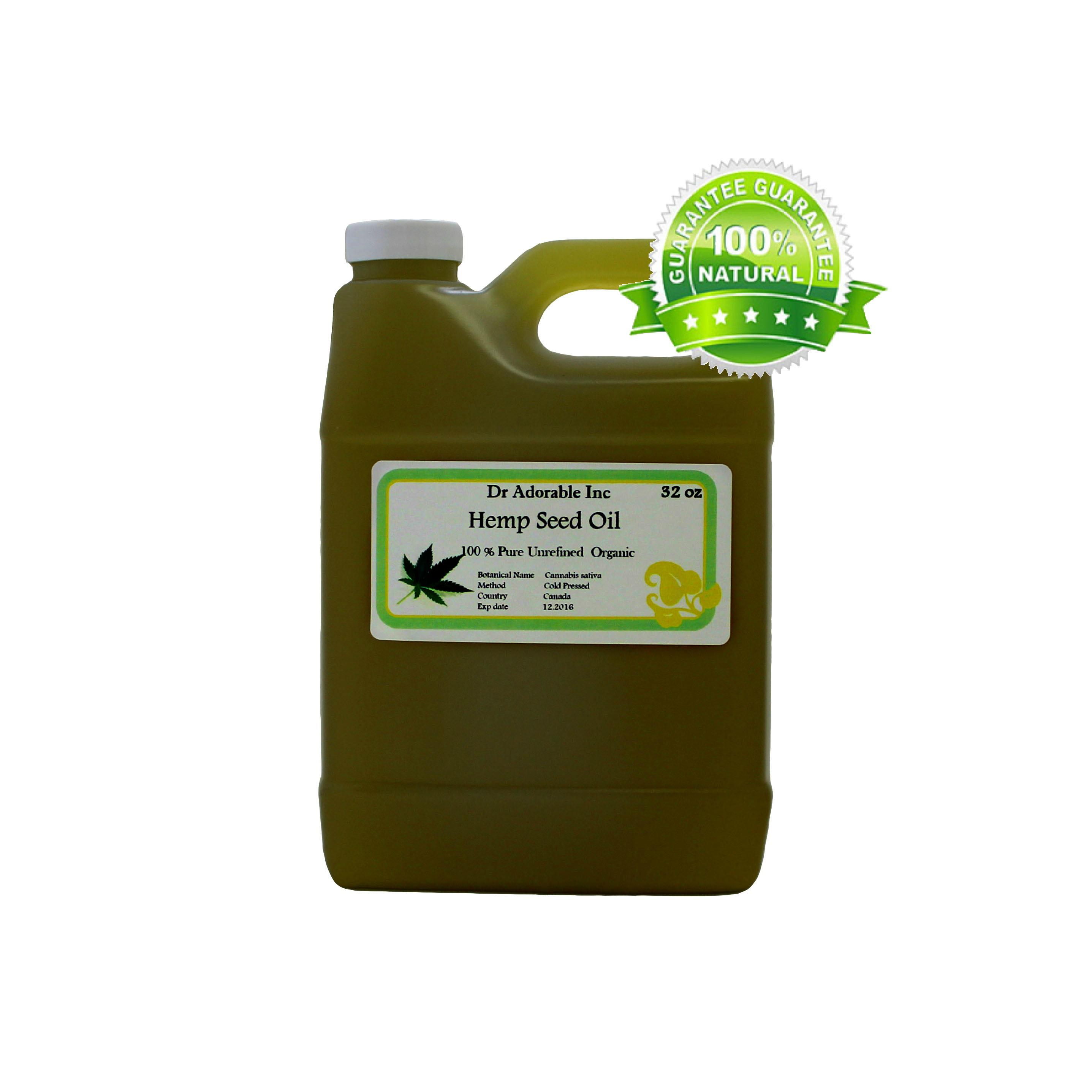 Hemp Seed Oil Organic Pure 32 Oz 1 Quart Walmart Com Walmart Com