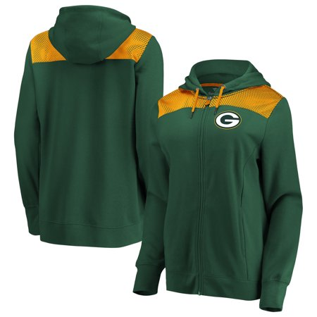 Green Bay Packers Fanatics Branded Women's Team Best Full-Zip Hoodie -