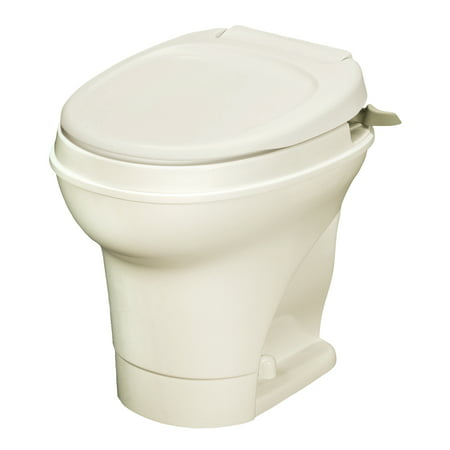 Aqua Magic V RV Toilet Hand Flush / High Profile / Parchment - Thetford (Thetford C2 Cassette Toilet Won T Flush)