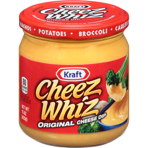 Kraft Cheez Whiz Original Cheese Dip, 15 oz