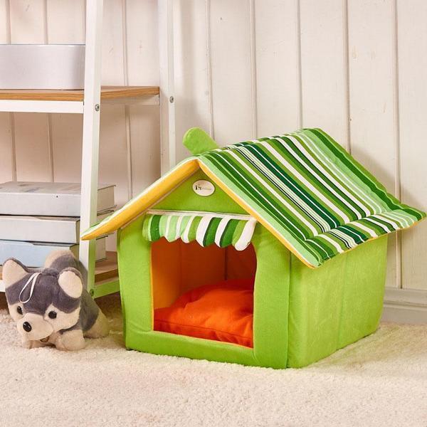 Comfy Dog House Bed| (Foldable) + FREE Car Seat Belt - image 6 de 6