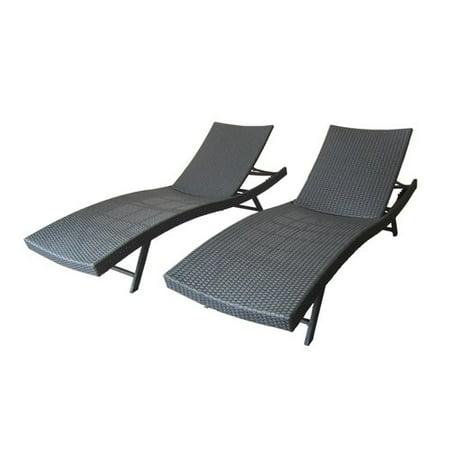 reclining chaise lounge. Ebern Designs Gerson Outdoor Wicker Reclining Chaise Lounge U